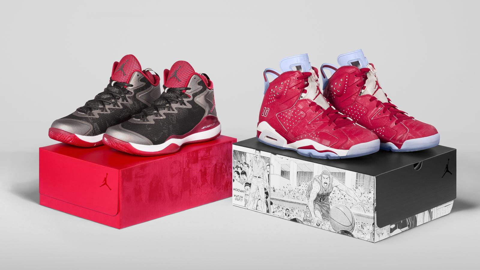 Slam Dunk Jordan S.F3 and AJ VI