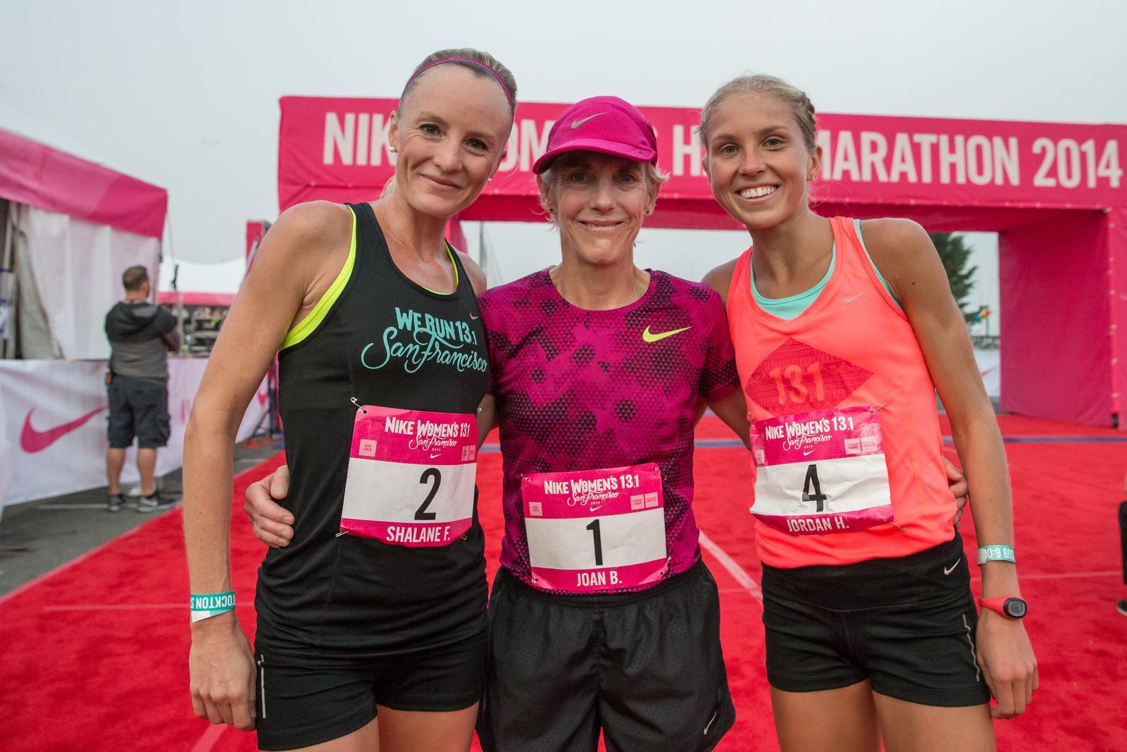 nike women�s half marathon celebrates 25000 runners in