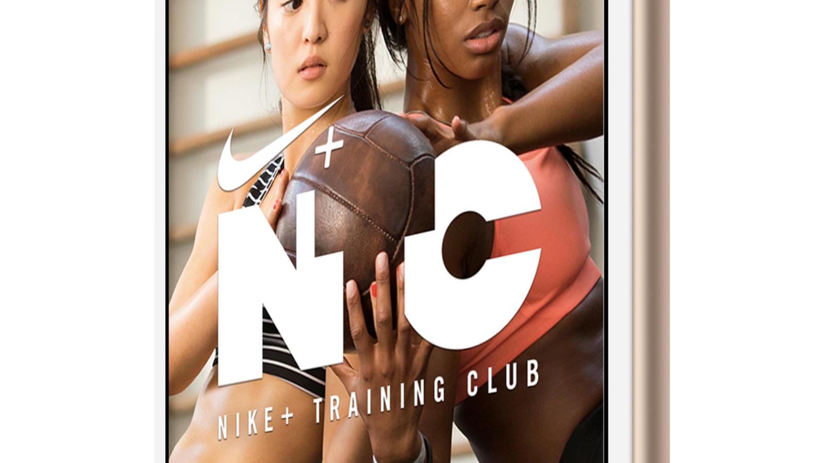 Nike+ Training Club Home Screen