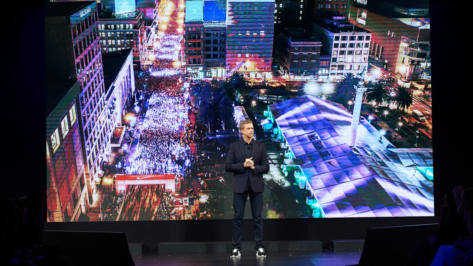 Nike-Women-Event-Mark-Parker-On-Stage