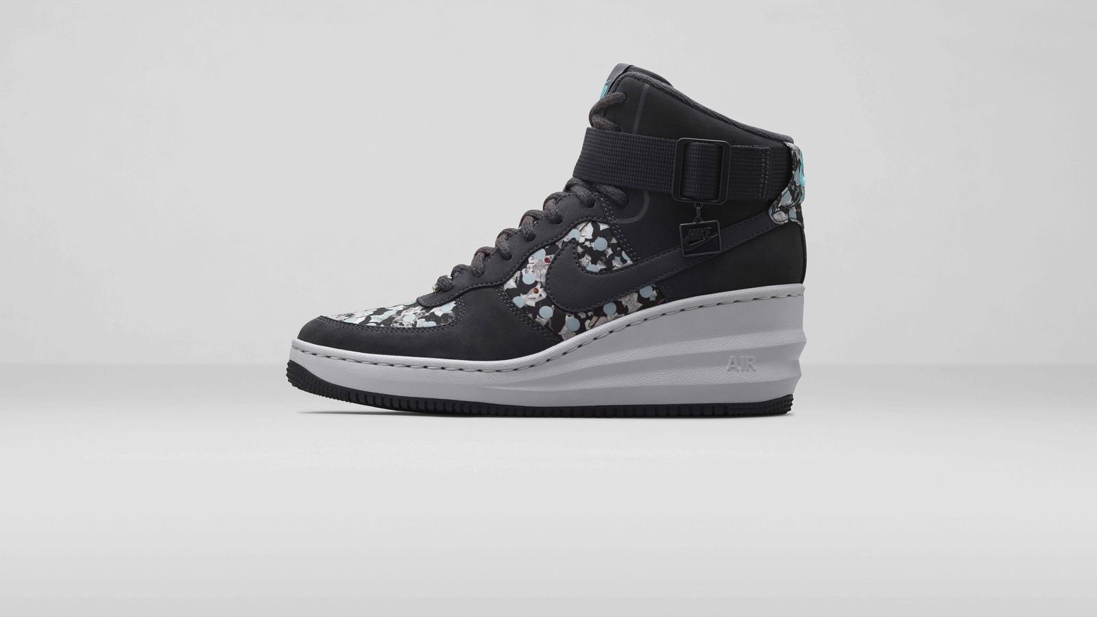 super popular 1c074 5a44d Nike%20x%20 Liberty%20 Lunar Force 1 Sky Hi Dark Ash