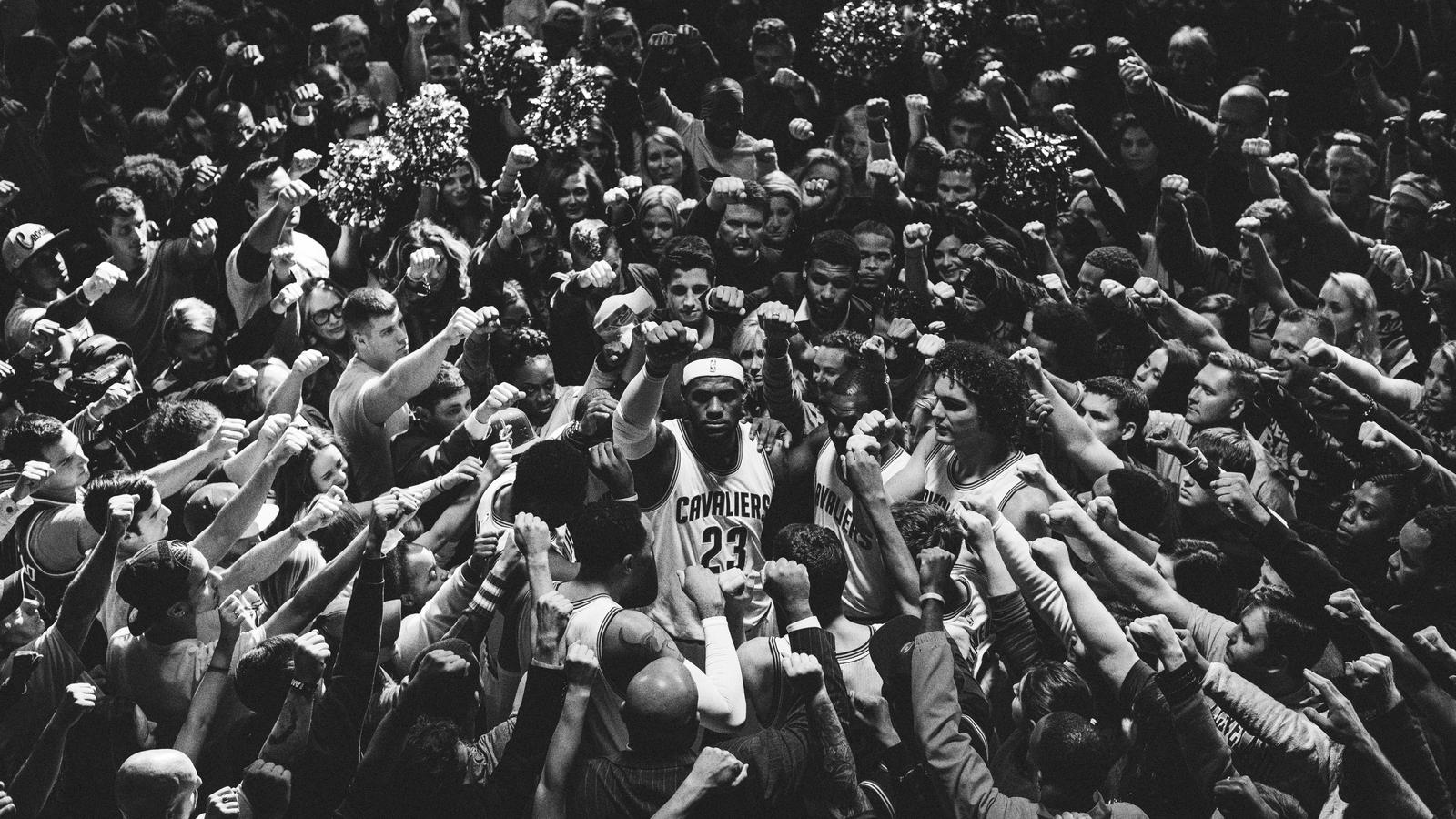 """los angeles 370d3 a1fac Nike Basketball launches a new film entitled """"Together,"""" which celebrates  the pride and emotion of LeBron James s return to Cleveland. One team. One  city."""