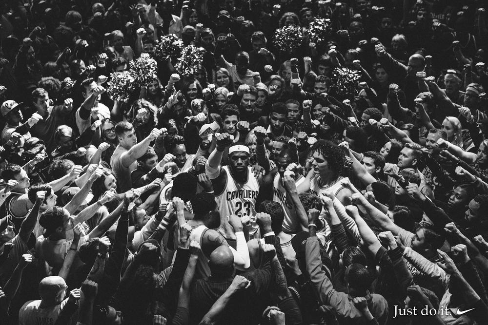 "Nike Basketball Debuts the LeBron James ""Together"" Film"