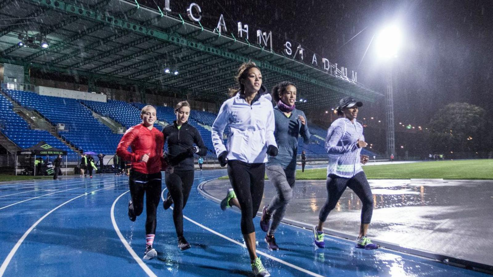 Track Workout at Icahn stadium