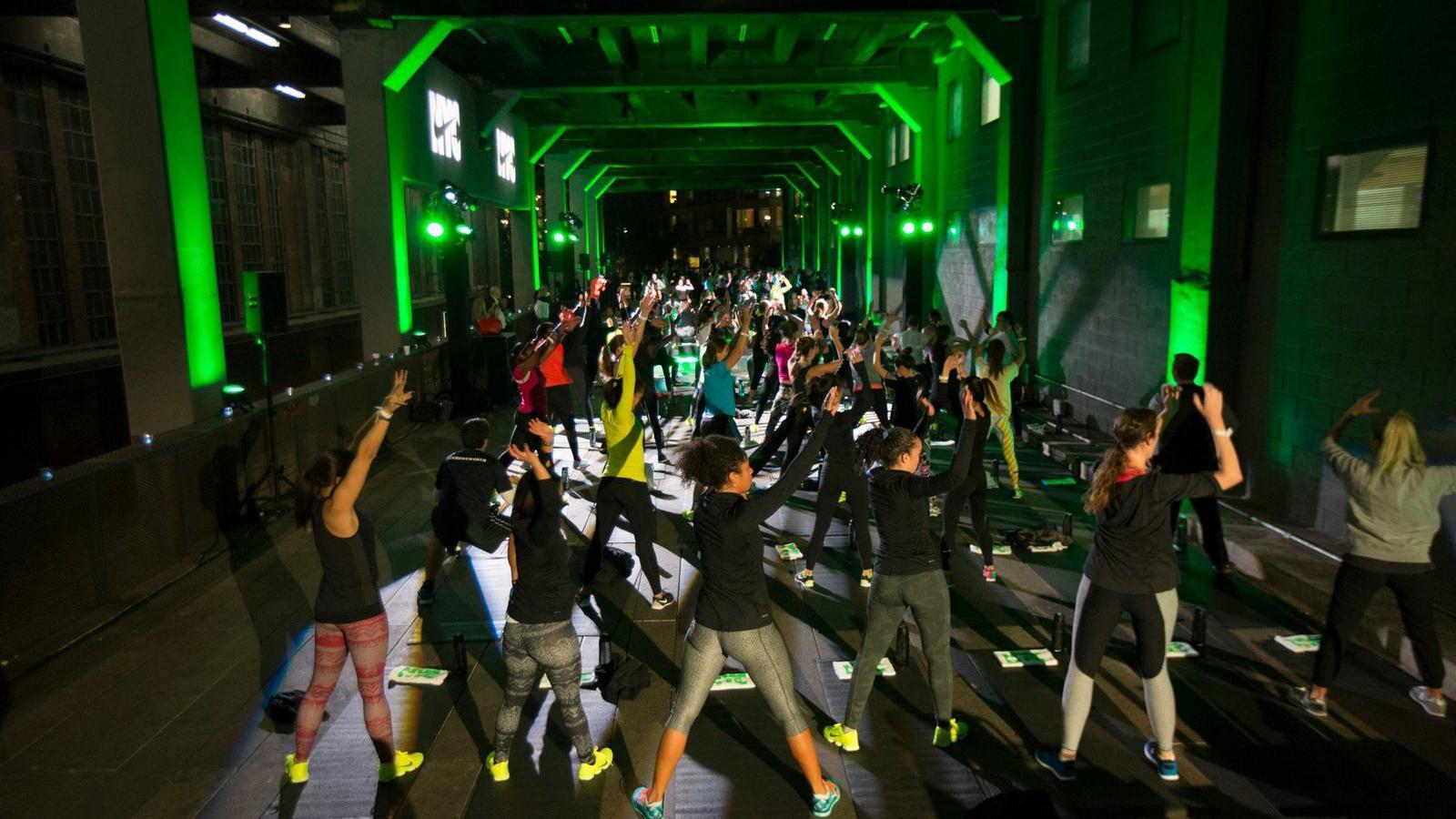 Nike Training Club at High Line Park