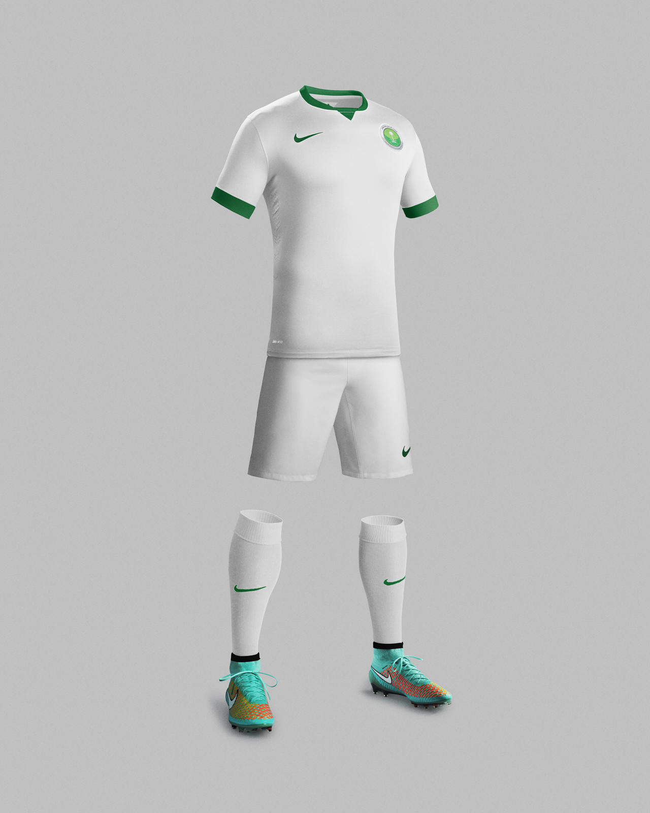finest selection 91da5 c992d Saudi Arabian Football Federation and Nike unveils new ...