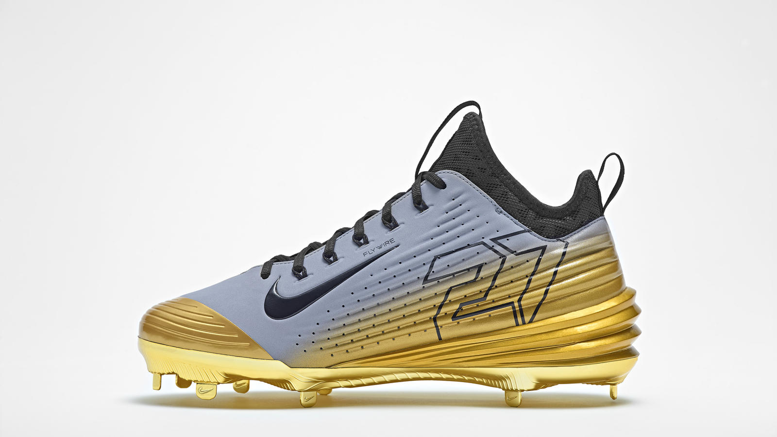 c51dfcbb1315 Nike Lunar Vapor Trout Pack Honors Mike Trout s First MVP Award ...