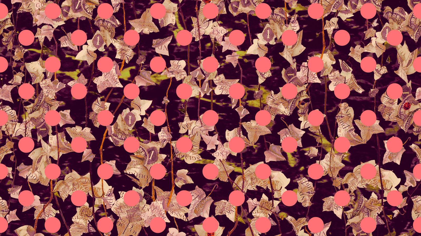Ho14 Liberty   Polka Dot Pink Tile