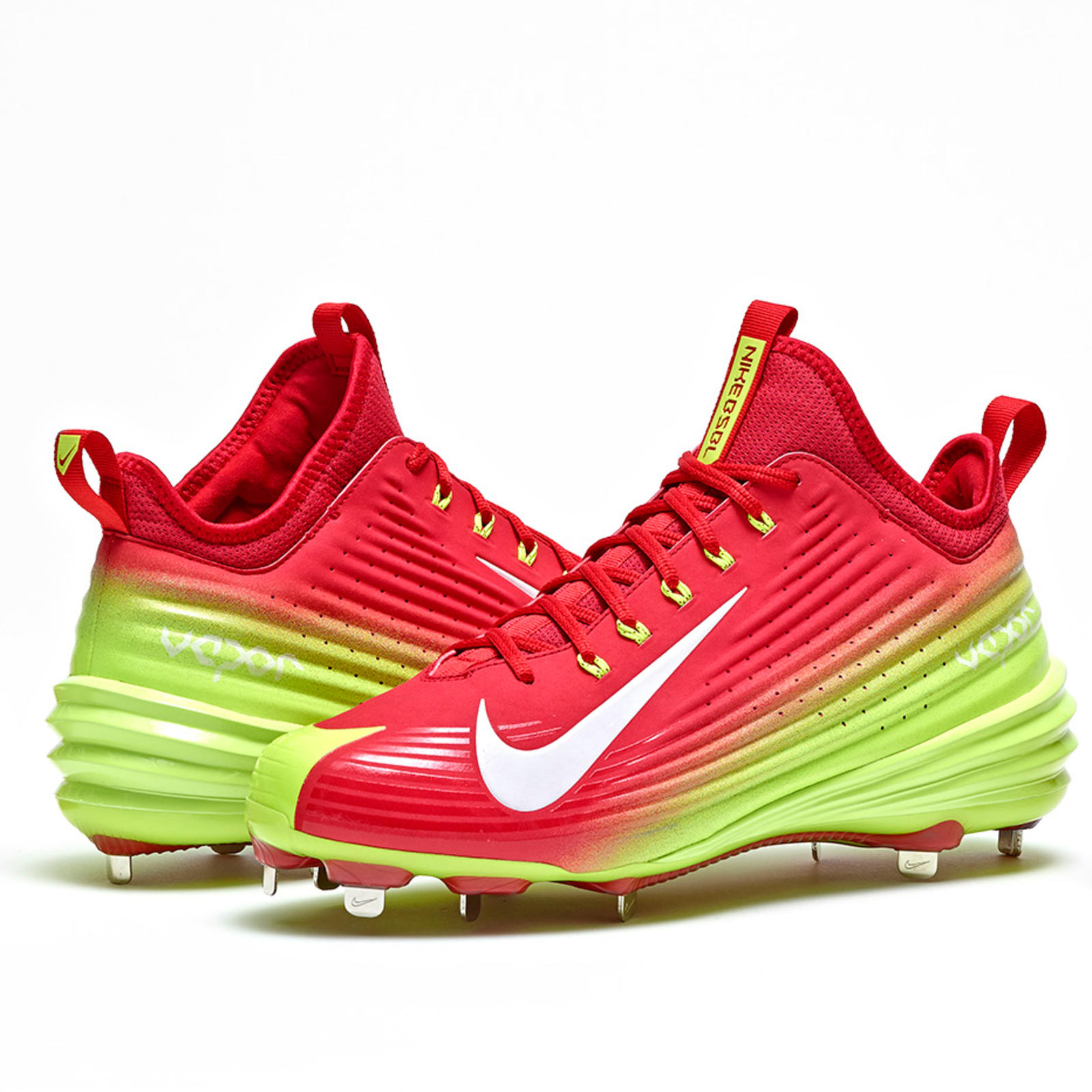 Mike Trout Shoes All Red