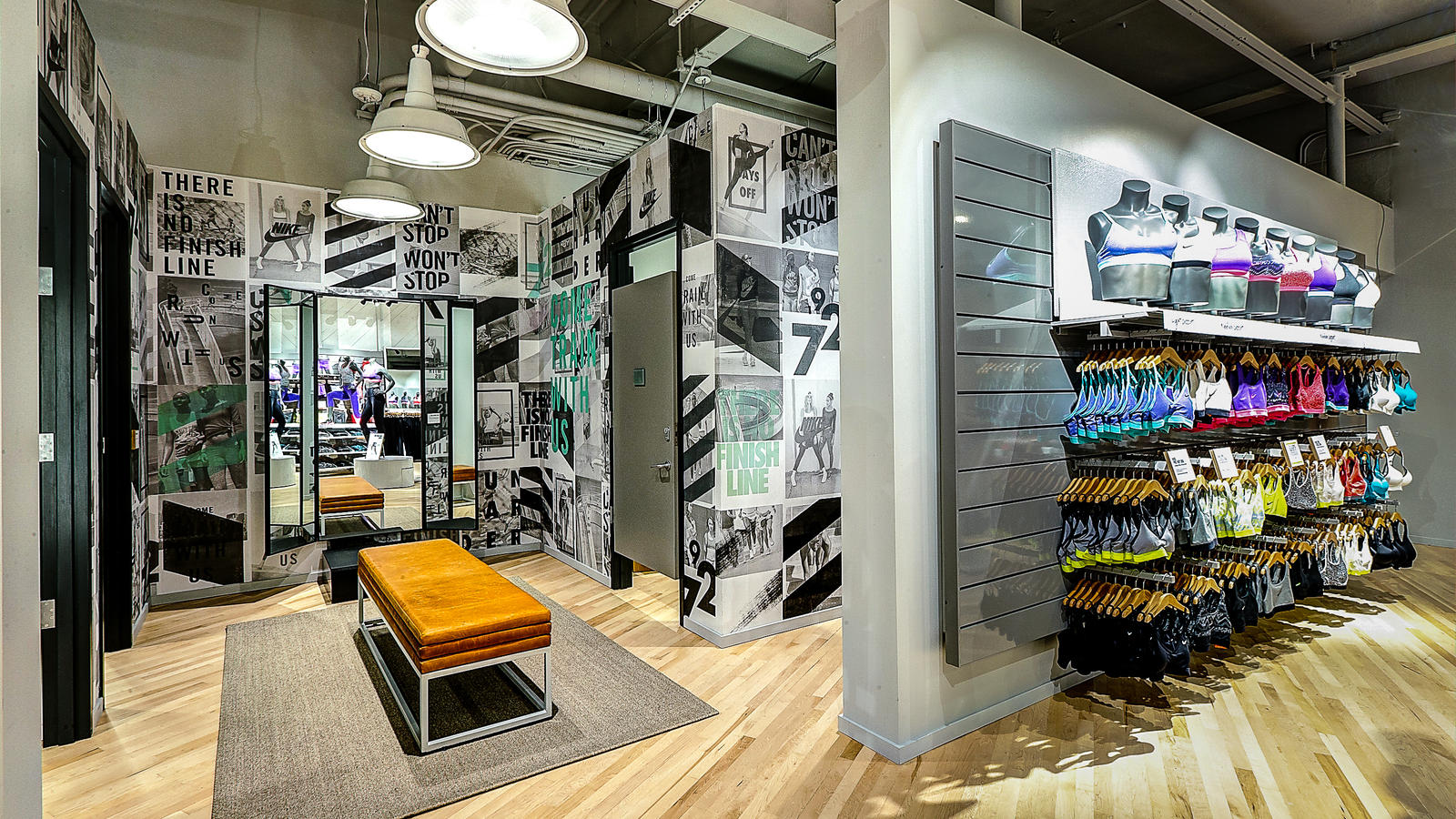 Nike Women's store in Newport Beach, CA
