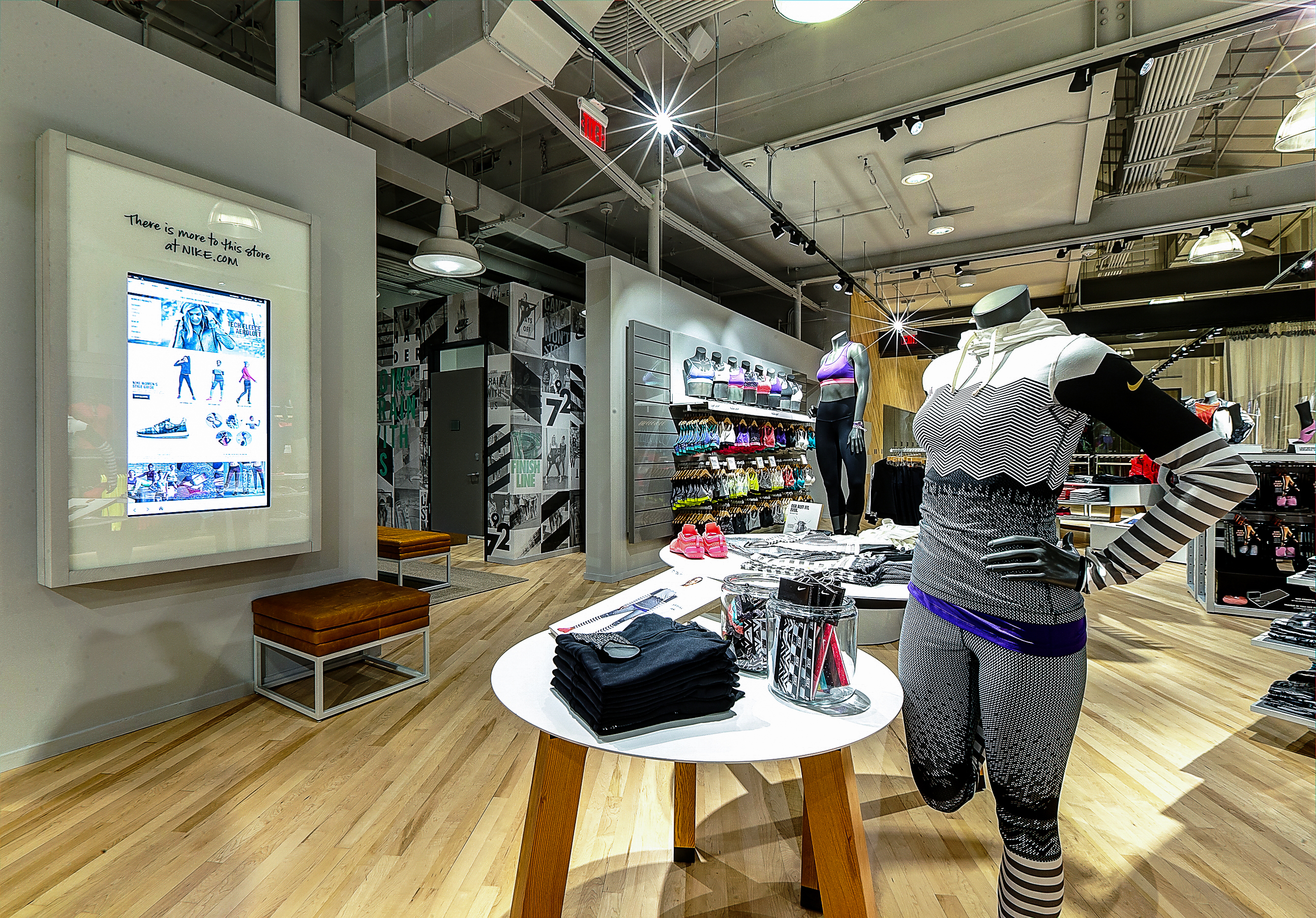 Nike women's-only store with fitness studio opens in ...
