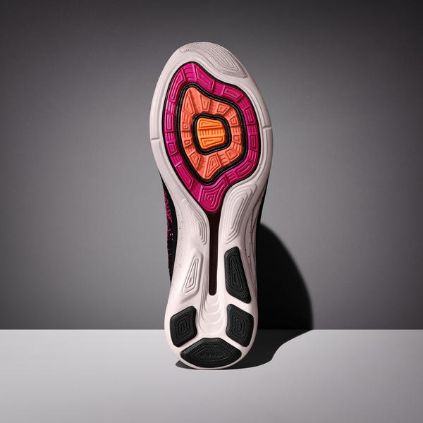 Pressure map data informed outsole