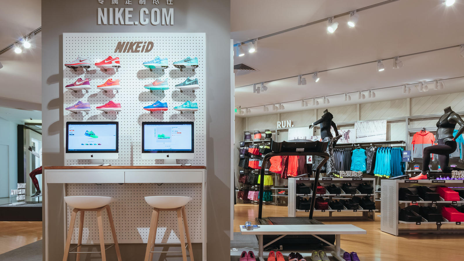 Nike Women s-only Store with Premium On-site Sports Experience Opens ... 7b4b44344a