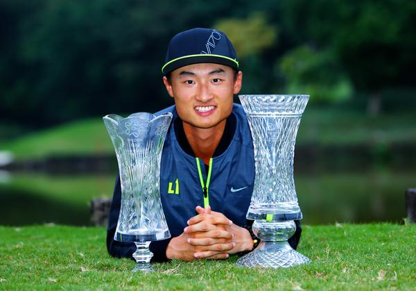 Nike athlete Hao-Tong Li claims his second victory in two weeks