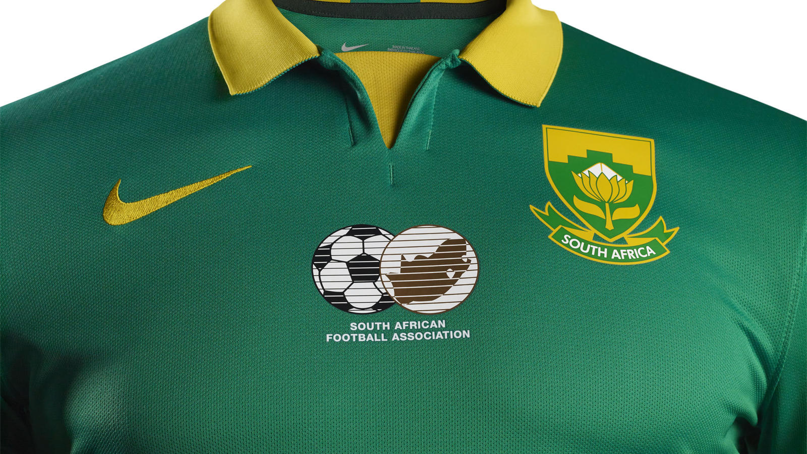 South Africa and Nike Unveil National Football Team Kits - Nike News