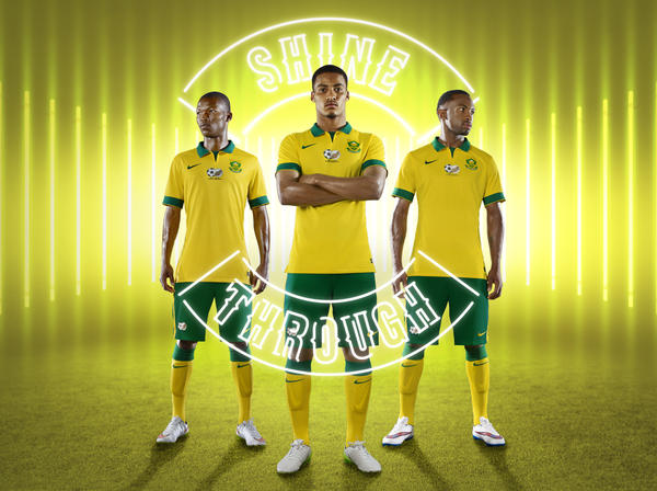 122898d6b South Africa and Nike Unveil National Football Team Kits - Nike News
