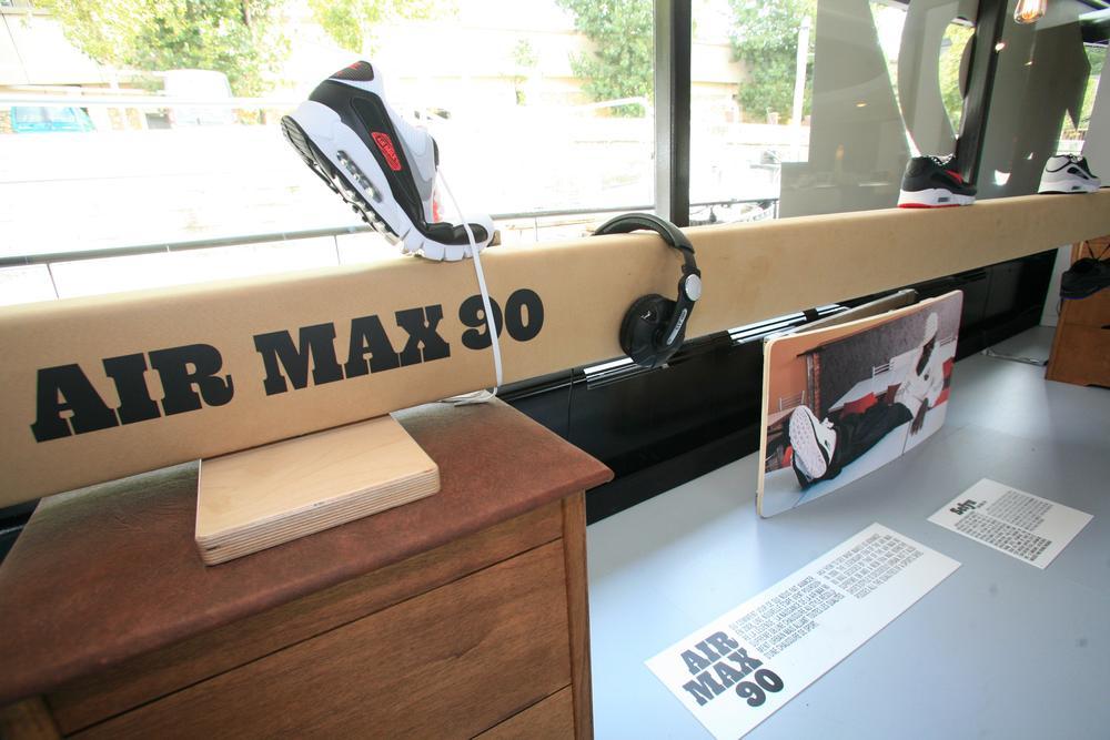 Nike Sportswear opens special retail installations