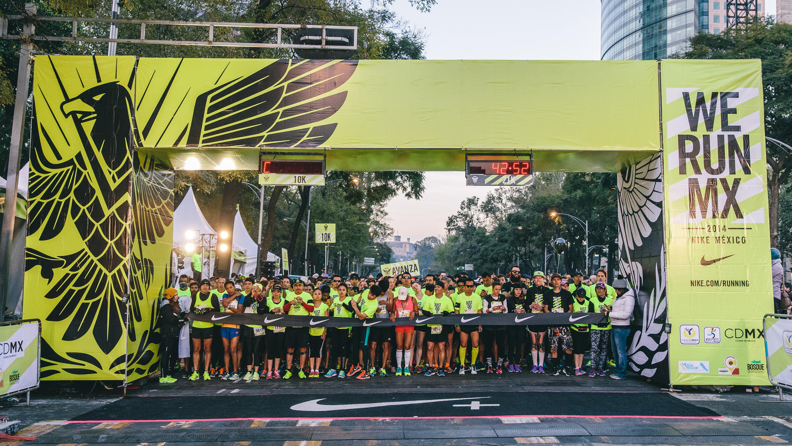 nike running competition