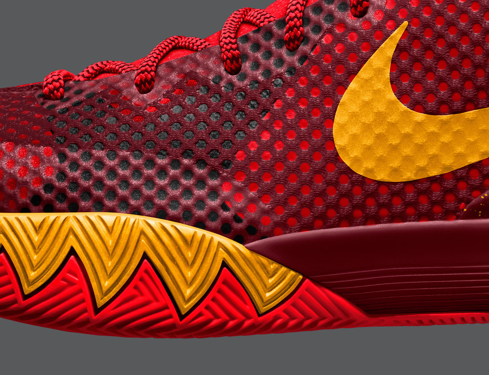 kyrie irving unveils the kyrie 1 nikeid shoe in brooklyn