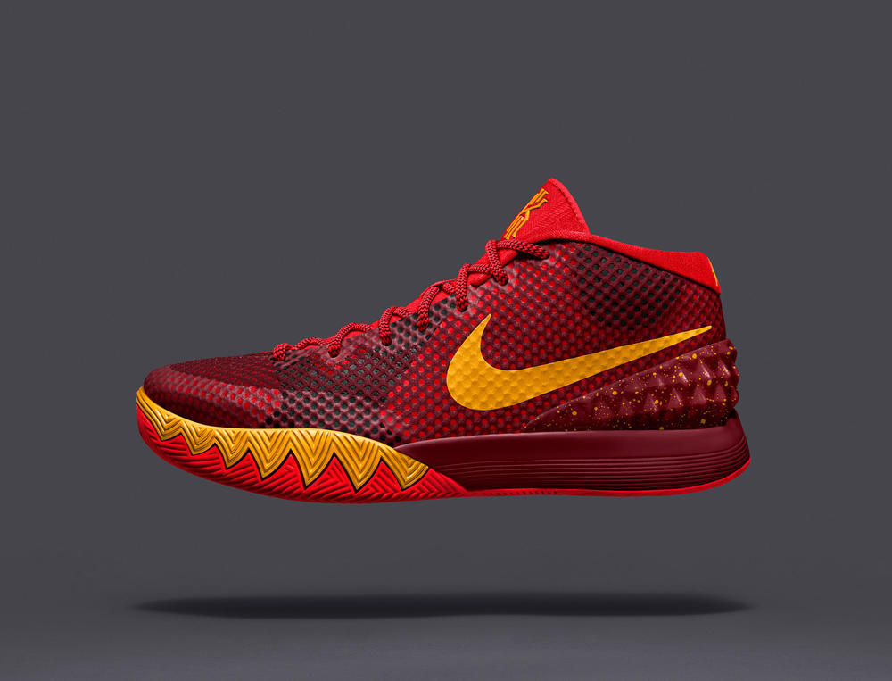 Kyrie Irving Unveils the KYRIE 1 NIKEiD Shoe in Brooklyn Tonight