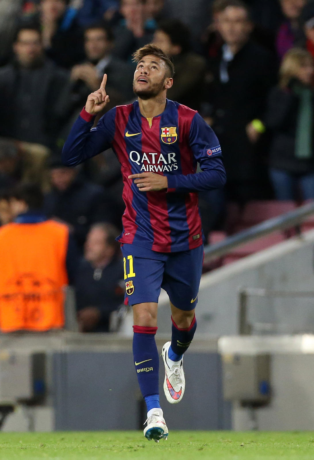 Neymar in White Hypervenom