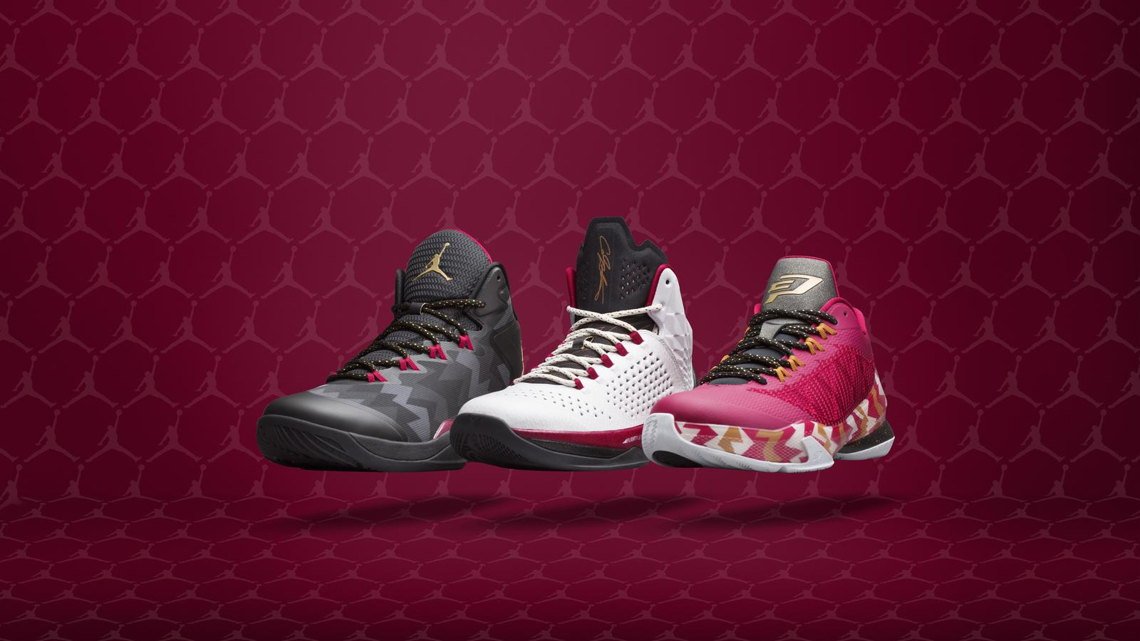 Holiday on the Hardwood: The Jordan Brand Christmas Day Collection ...