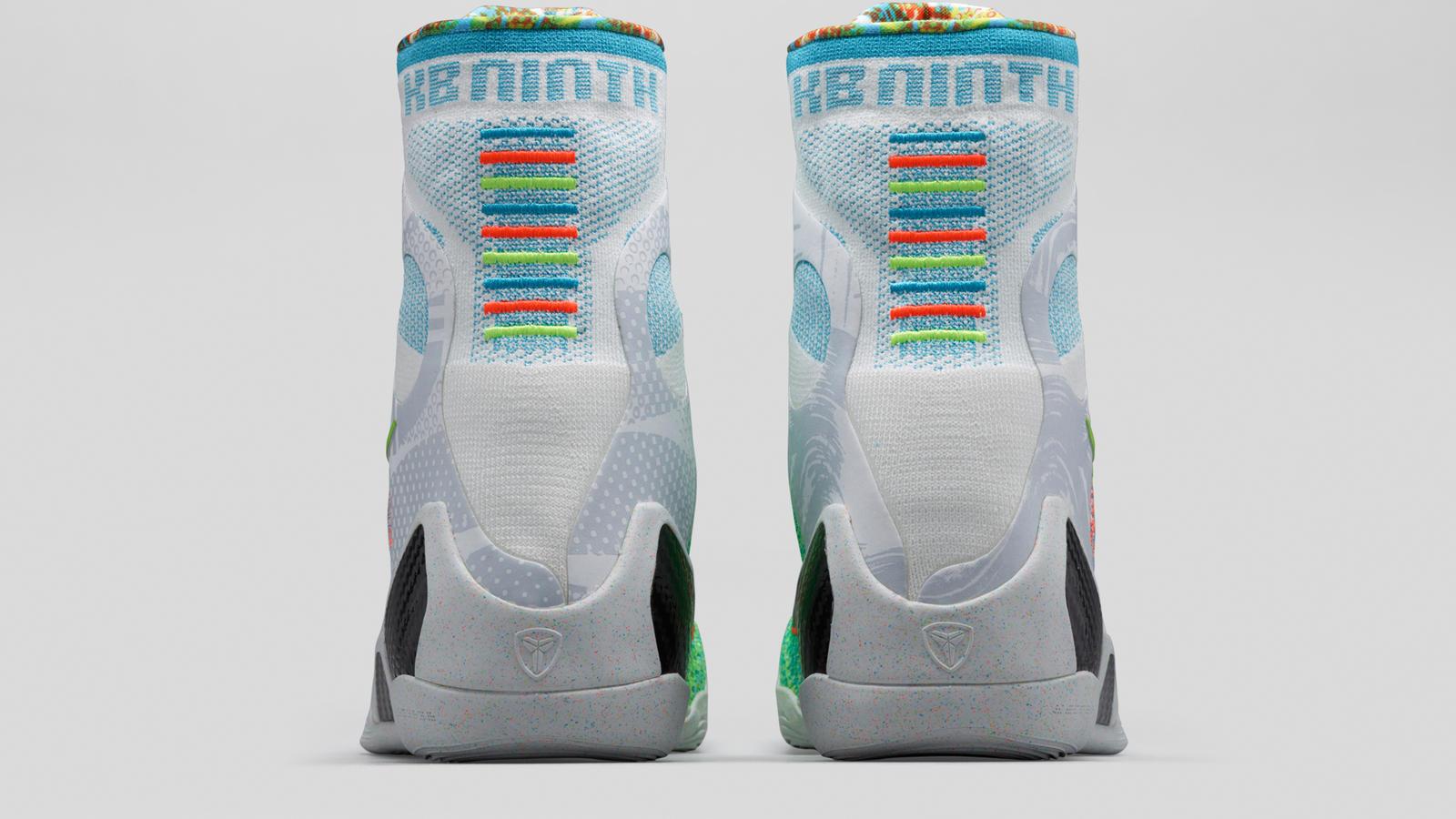 low priced 73357 d7740 Kobe 9 Elite What The Multi Color Heel FB. KOBE 9 ...