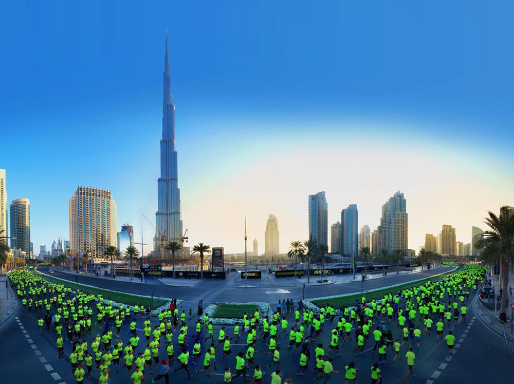 Nike Inspires More Than 6,000 Runners to Take Over Downtown Dubai for We Run Dubai 10K