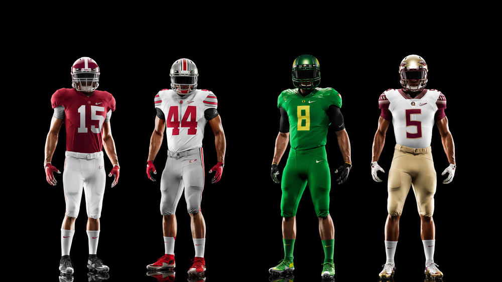 Nike Reveals College Football Playoff Uniforms to be Worn During Rose Bowl and Sugar Bowl