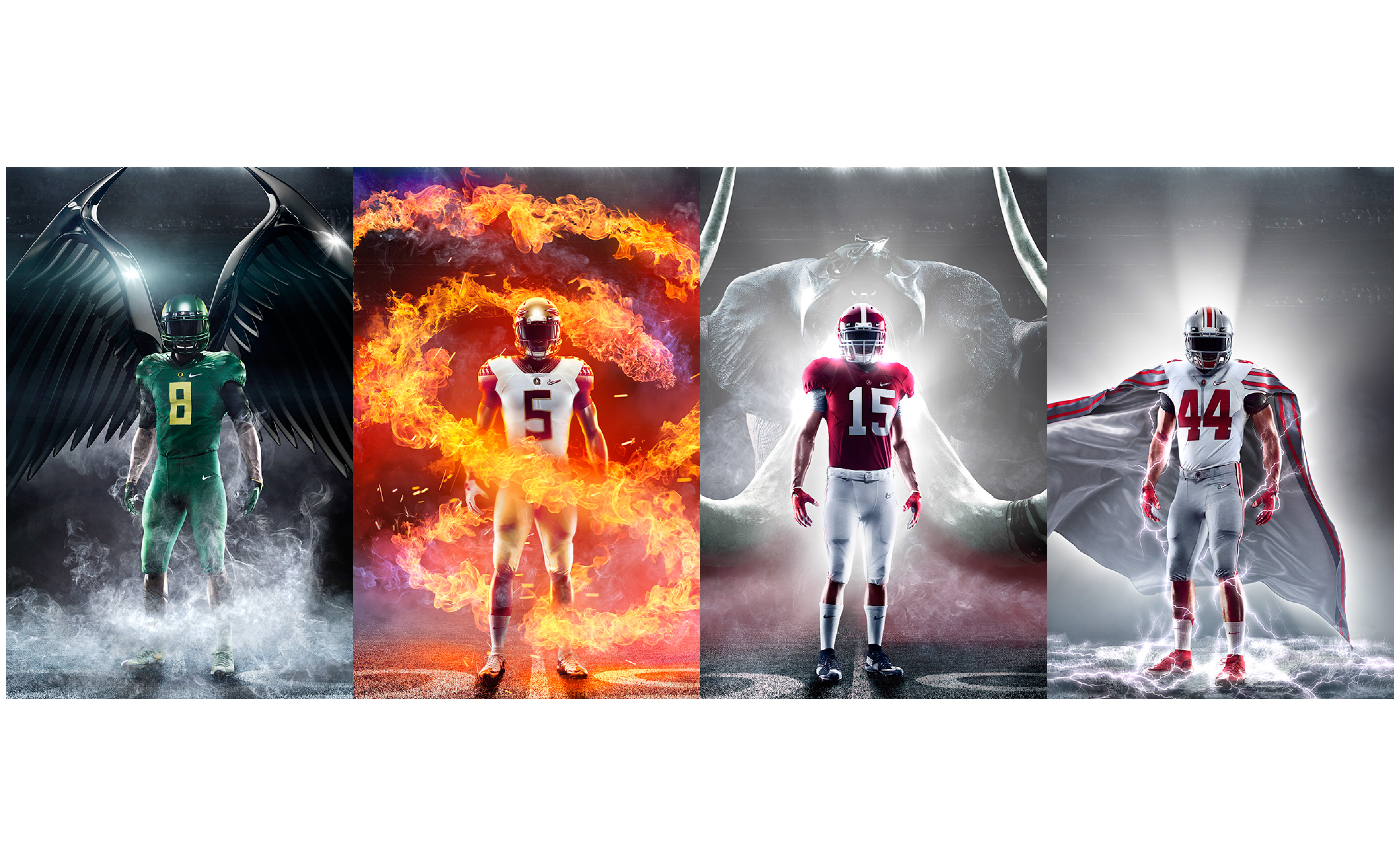 Four Nike-Sponsored Teams Battle for College Football Playoff Title