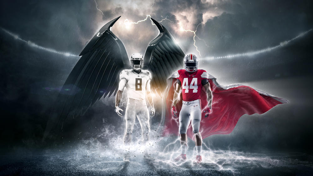 Nike Reveals College Football Playoff National Championship Uniforms for Oregon and Ohio State