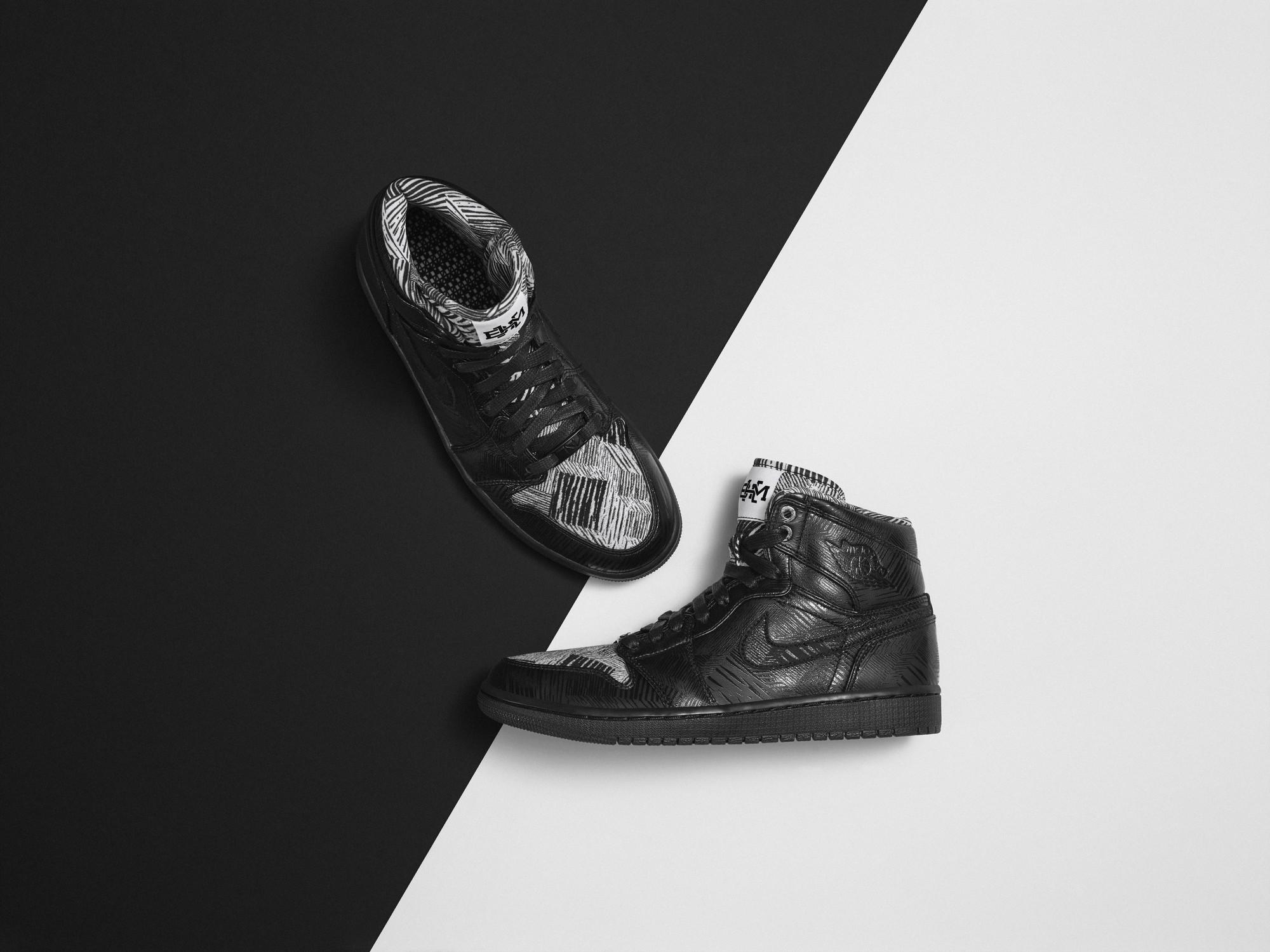 Air Jordan 1 Bhm 2015 Foot
