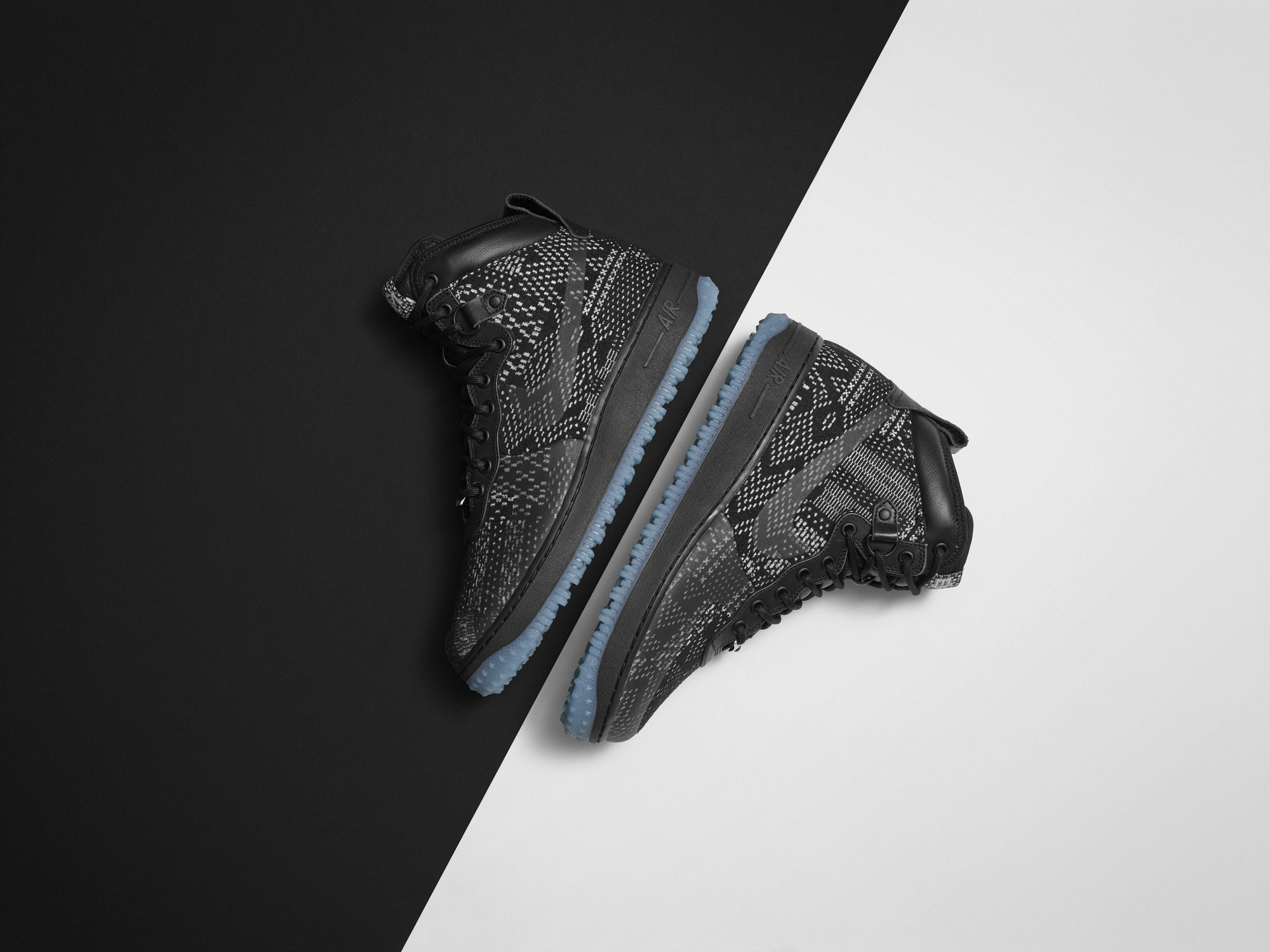 Nike Air Force 1 Mois Histoire Noire 2015 Crampons