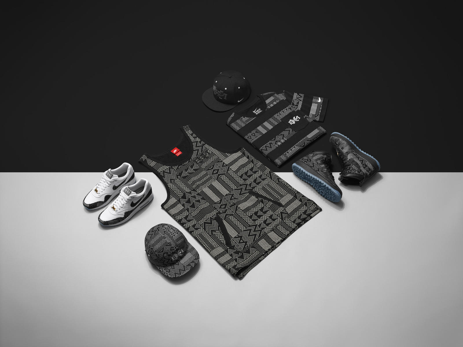 5f349fd5c05 Nike SP15 BHM JORDAN HERO COLLECTION Final. Jordan Brand Black History Month  product featuring the new BHM prints.  Nike SP15 BHM NSW MENS COLLECTION Final