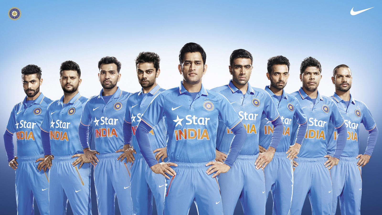 Team India Unveils Nike S New Cricket Kit For One Day Internationals