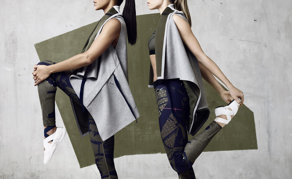 NikeLab presents Johanna Schneider Women's Training Collection: Modularity for the Body in Motion