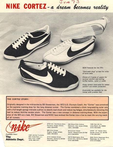 Who Wore The First Nike Running Shoe