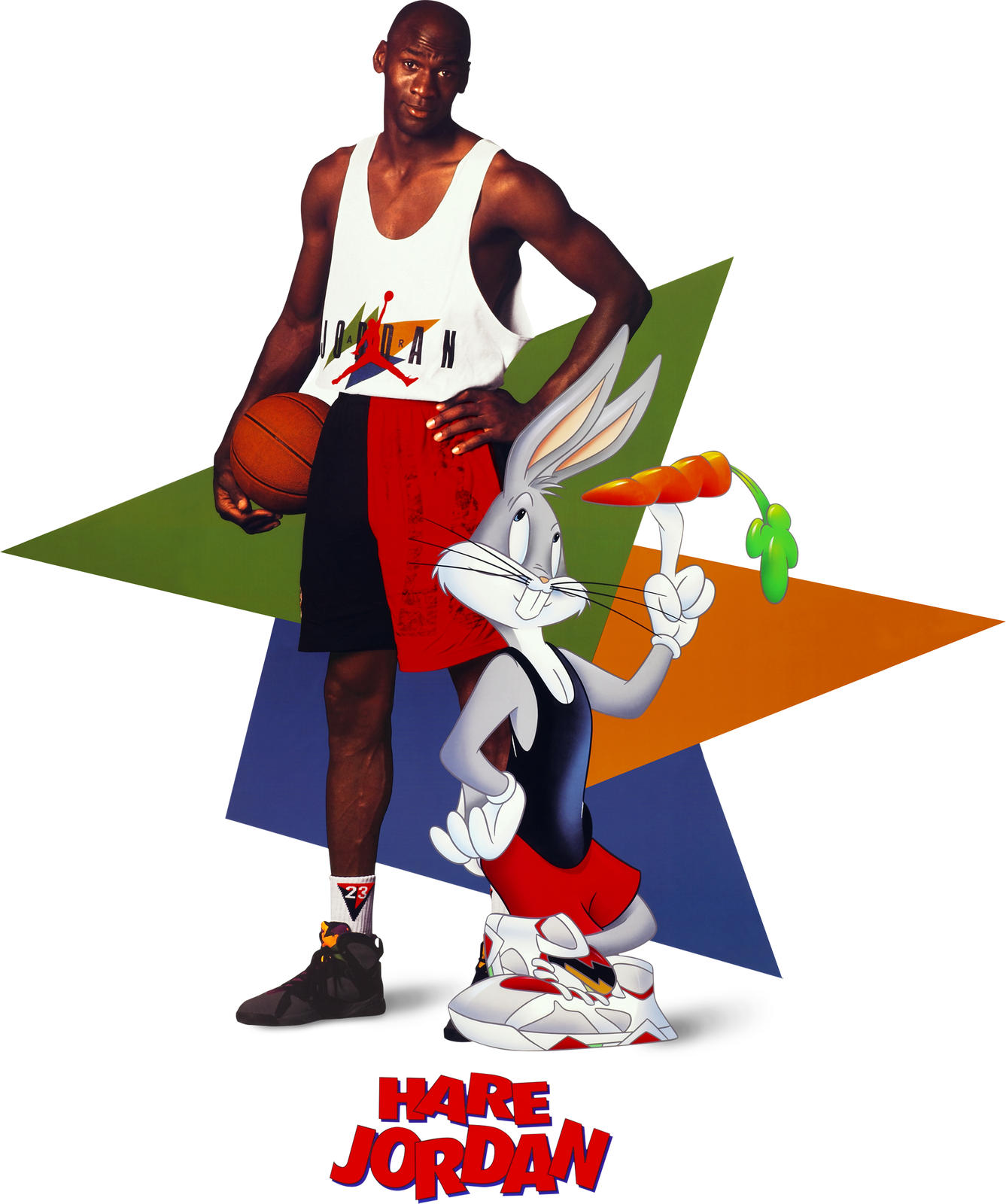 Michael Jordan And Bugs Bunny Rekindle A Beloved Friendship