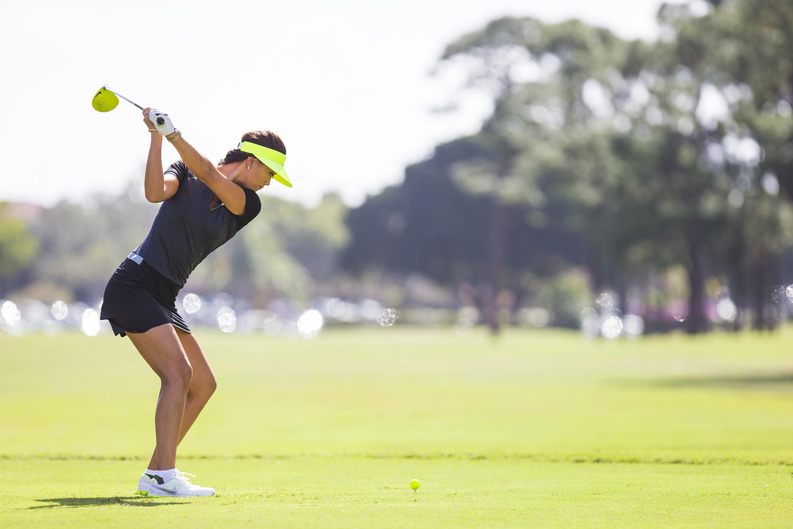 Michelle Wie - Volt Driver and Ball