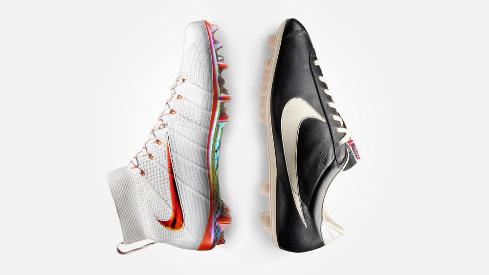 Nike Football Illustrated: A timeline of game-changing Innovations