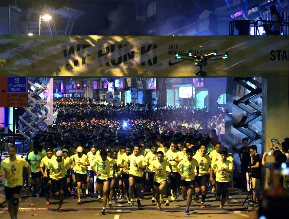 Runners Zoom at Nike's First 21K We Run Kuala Lumpur Race