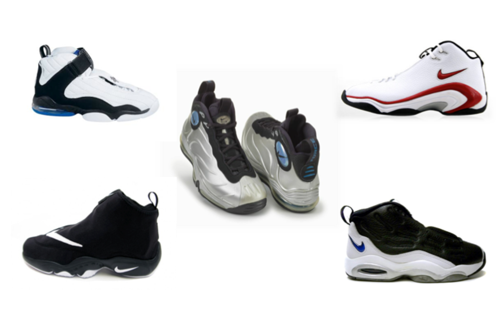 Notable shoes worn throughout 1998: Nike ...
