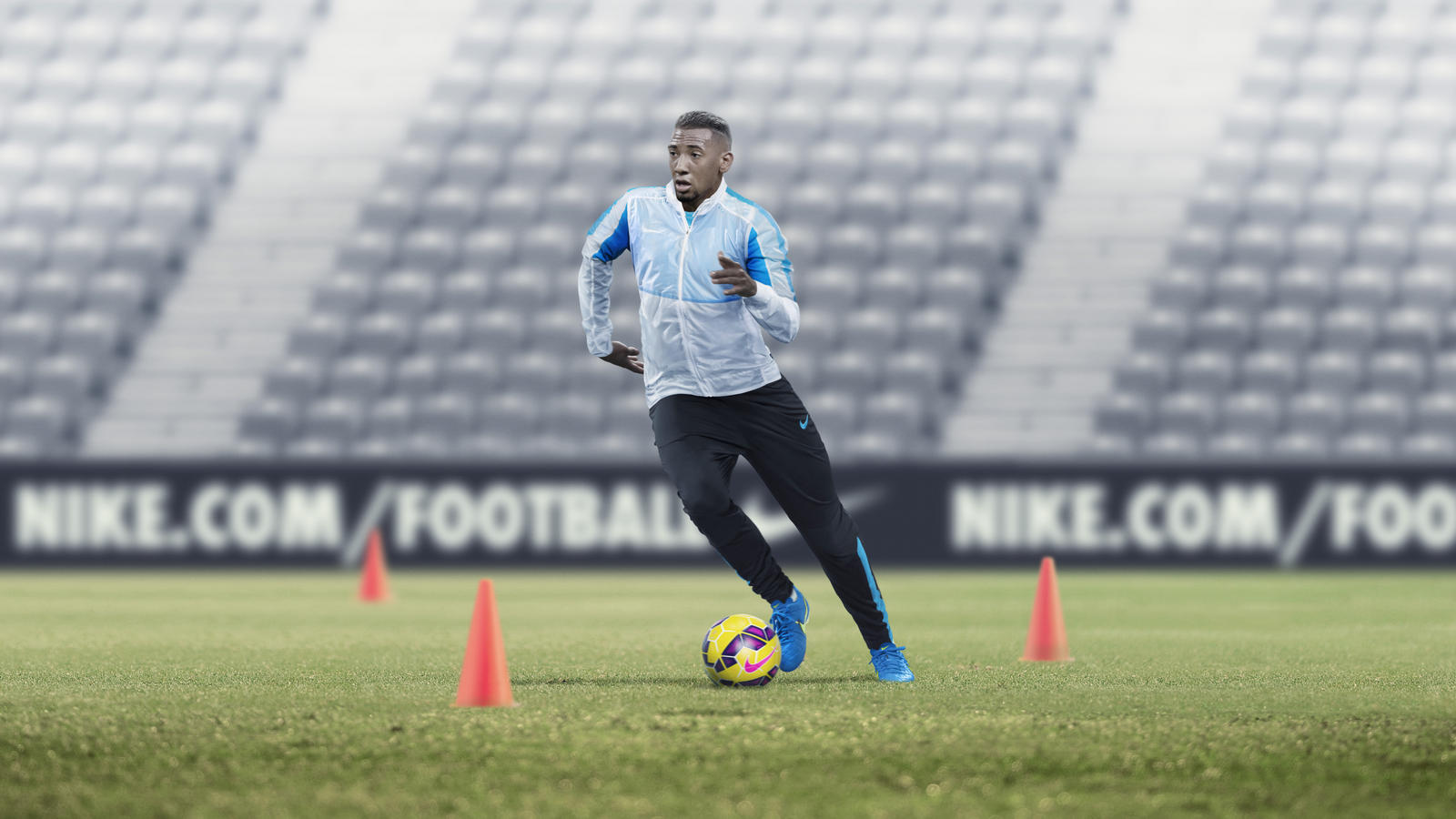 watch 970e8 f5f28 Jack Wilshere in the Revolution Jacket.  SP15 FB WE RJ Training gallery Boateng Action