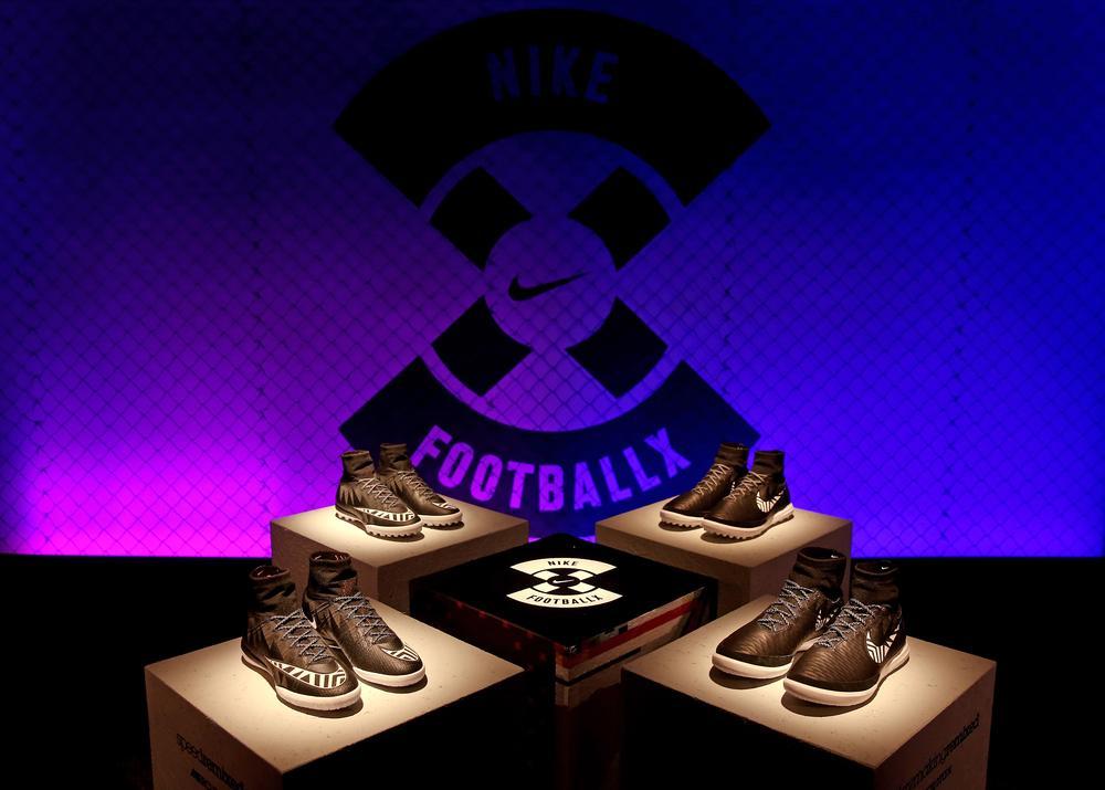 Nike Unveils NikeFootballX