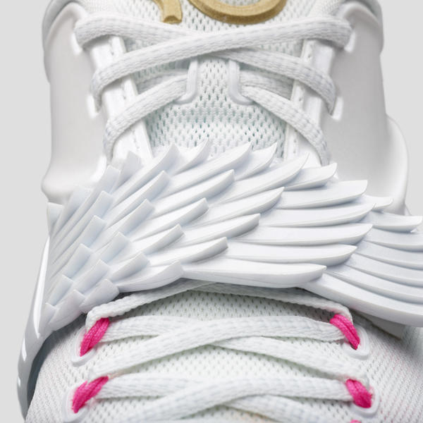 98fe5f3f3da5 New KD7 Aunt Pearl Shoe Honors Kevin Durant s Angelic Aunt - Nike News