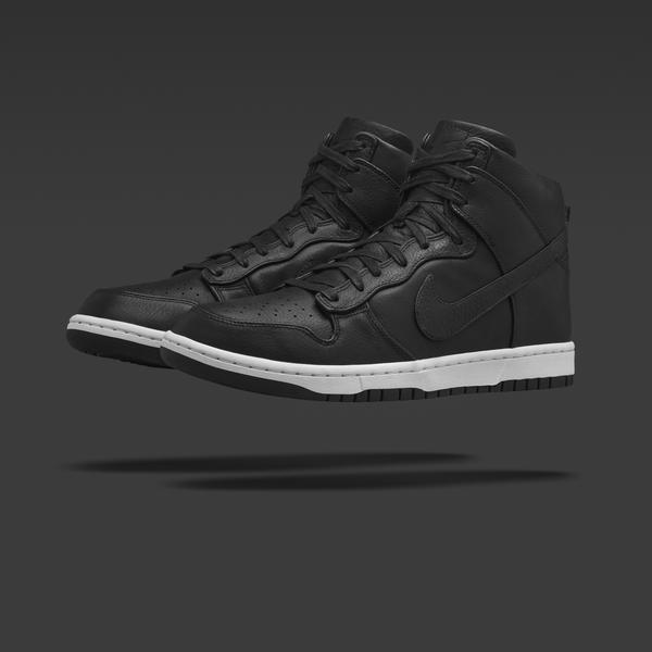NikeLab Dunk Lux High_Black_1