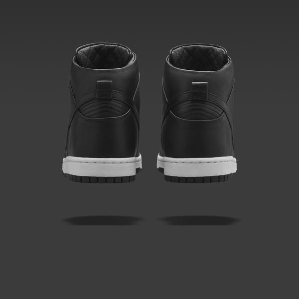 NikeLab Dunk Lux High_Black_2