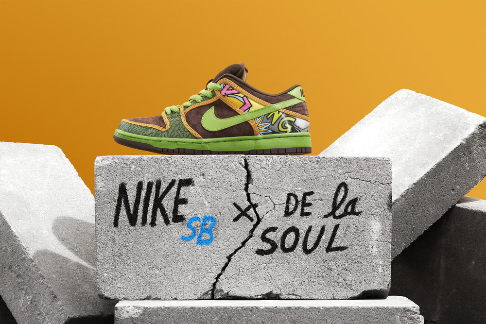 Nike SB Presents a Modern Take on the De La Soul Dunk SB