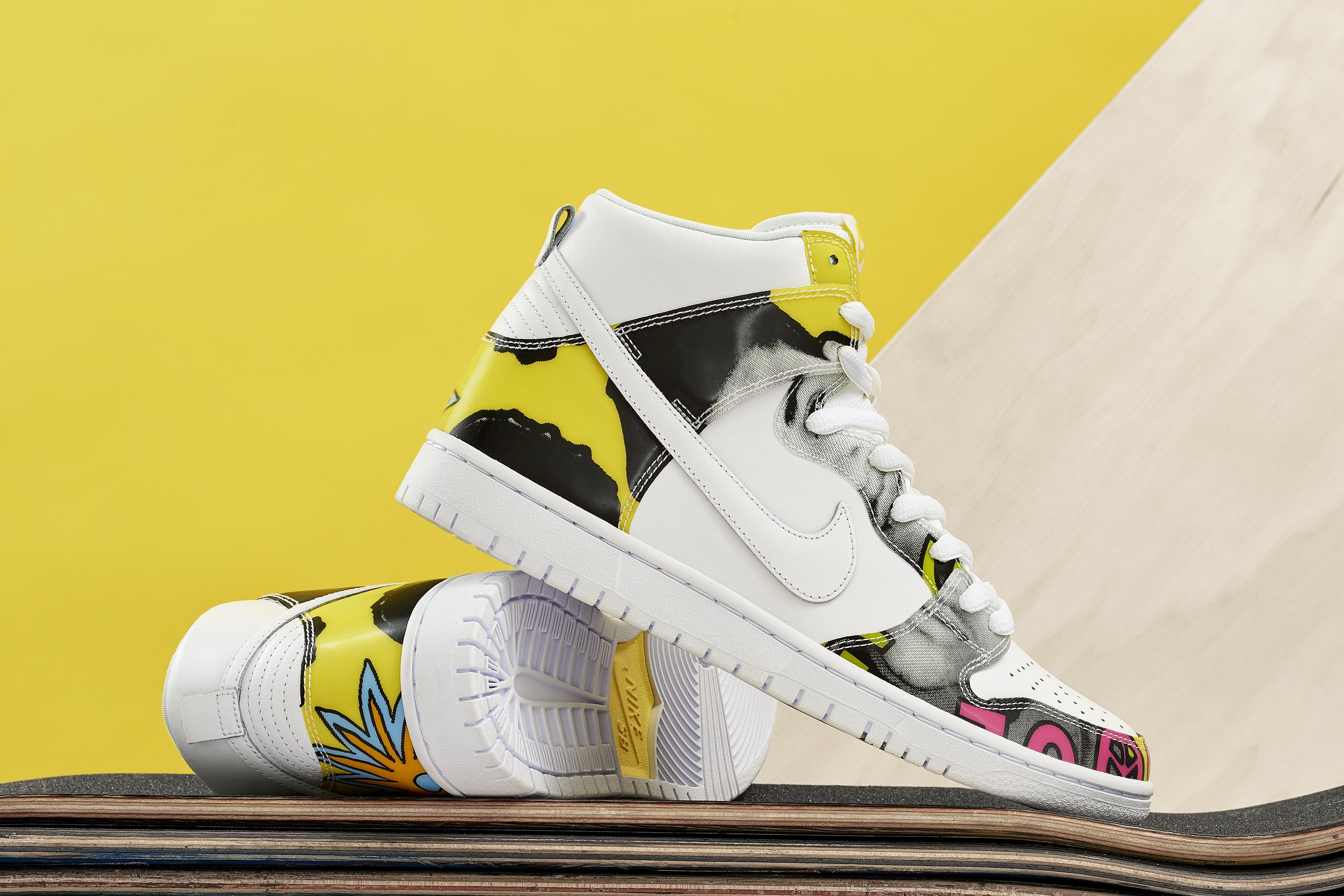 the latest 53327 6c8d5 Nike Dunk High De La Soul Albums