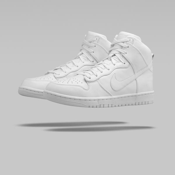 NikeLab Dunk Lux_White_1